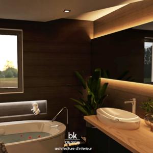 Salle de bain Style Black Lover Veymerange (57)