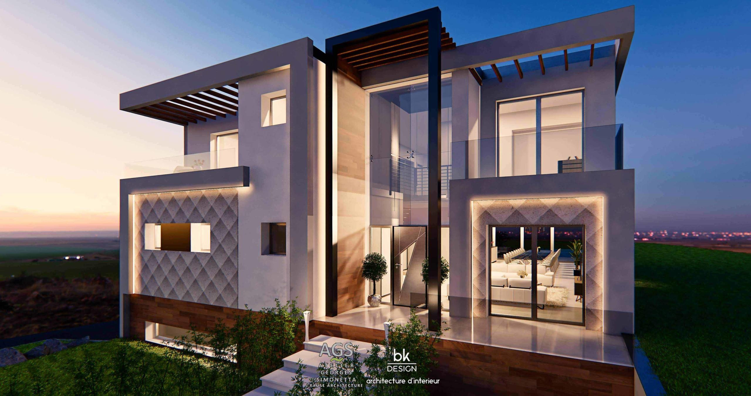 02 bk Design Projet Rombas Villa