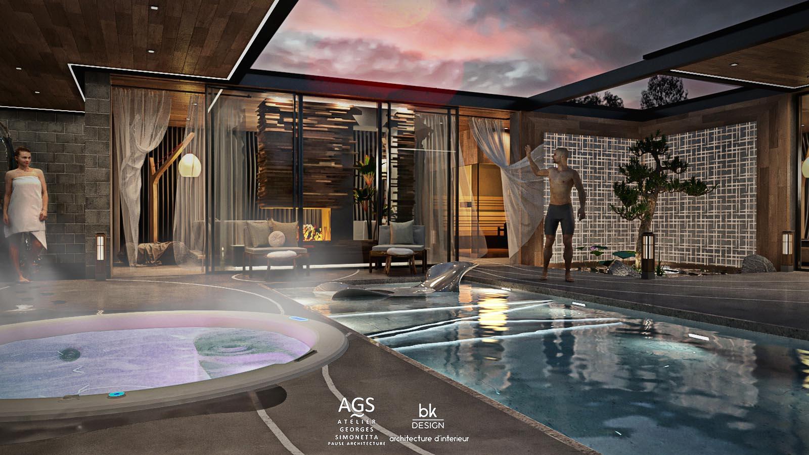 10 bk Design Projet Chalet Vosges