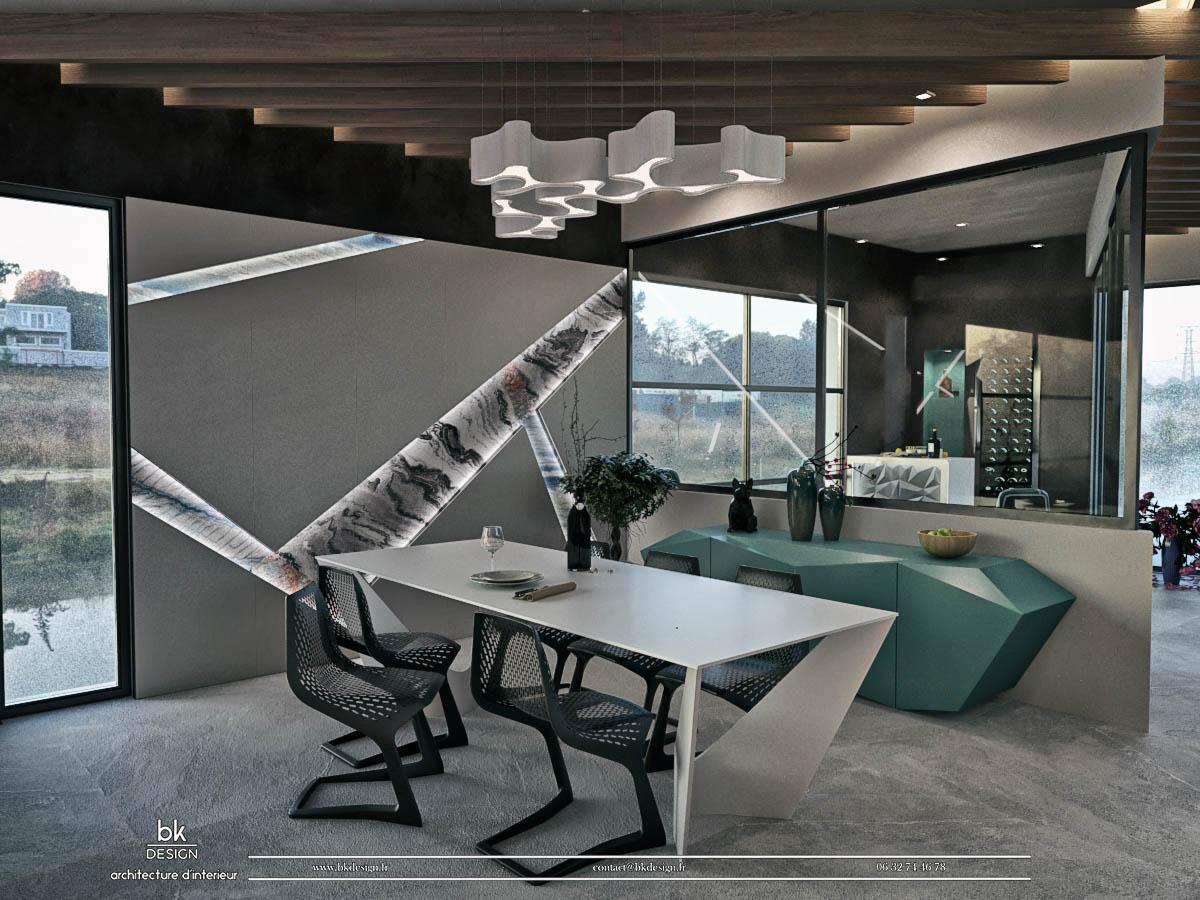 12 bk Design Projet Thionville Guentrange v3 R03 Salle à Manger
