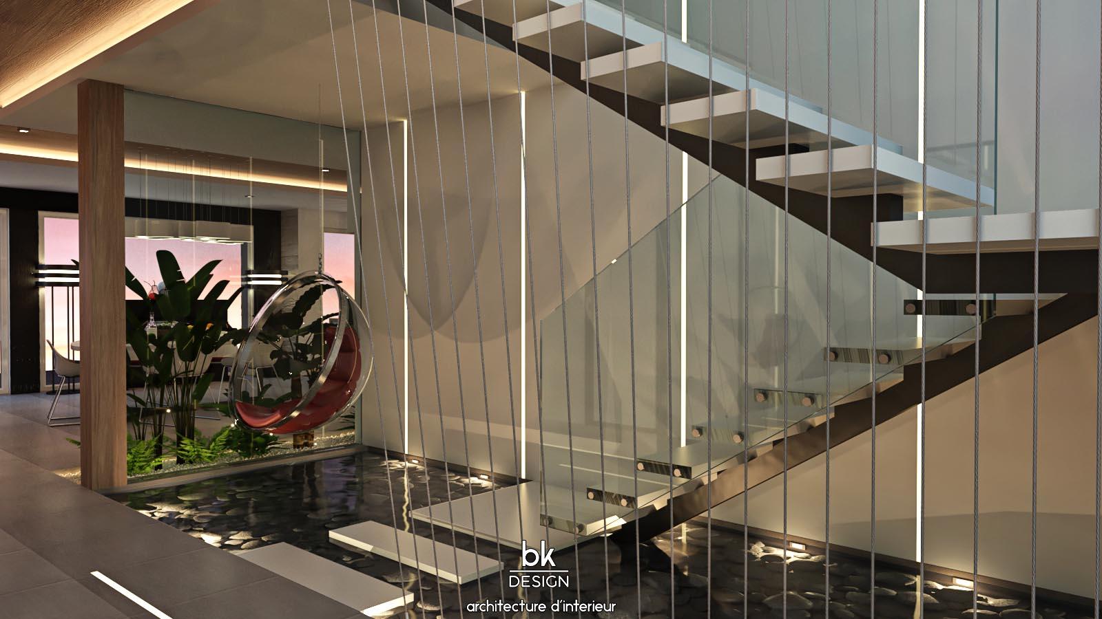 15 bk Design Projet Veymerange v3R01 Escalier