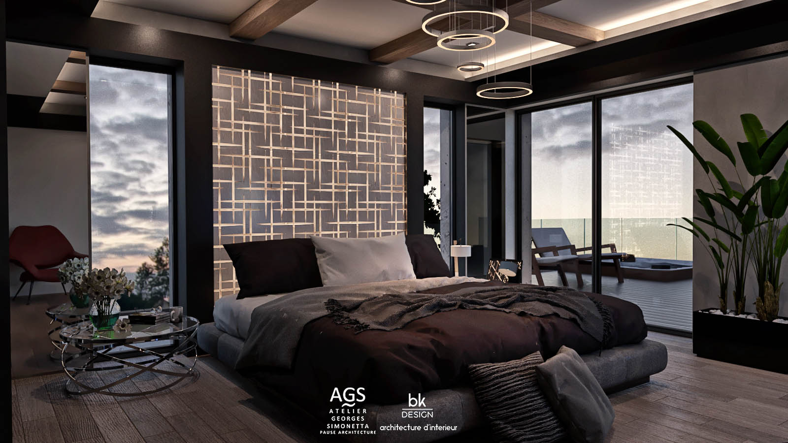 16 bk Design Projet Elange v306 Suite Parentale