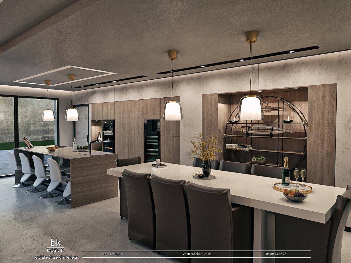 17 bk Design Projet Marly v3 R02 Cuisine