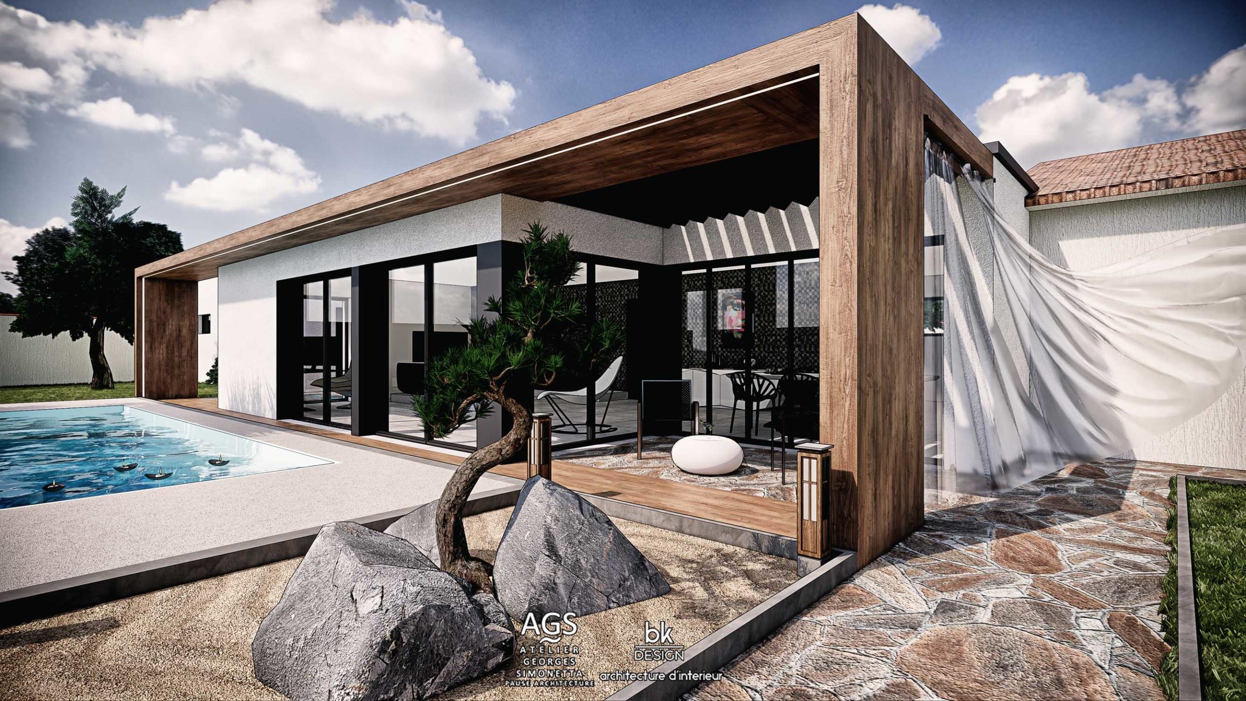 18 bk Design Projet Les Arcs v5 03 Villa
