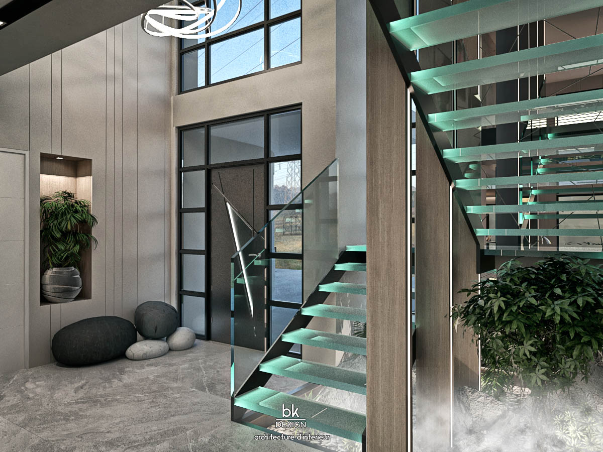 23 bk Design Projet Marly v2 R03 Escalier