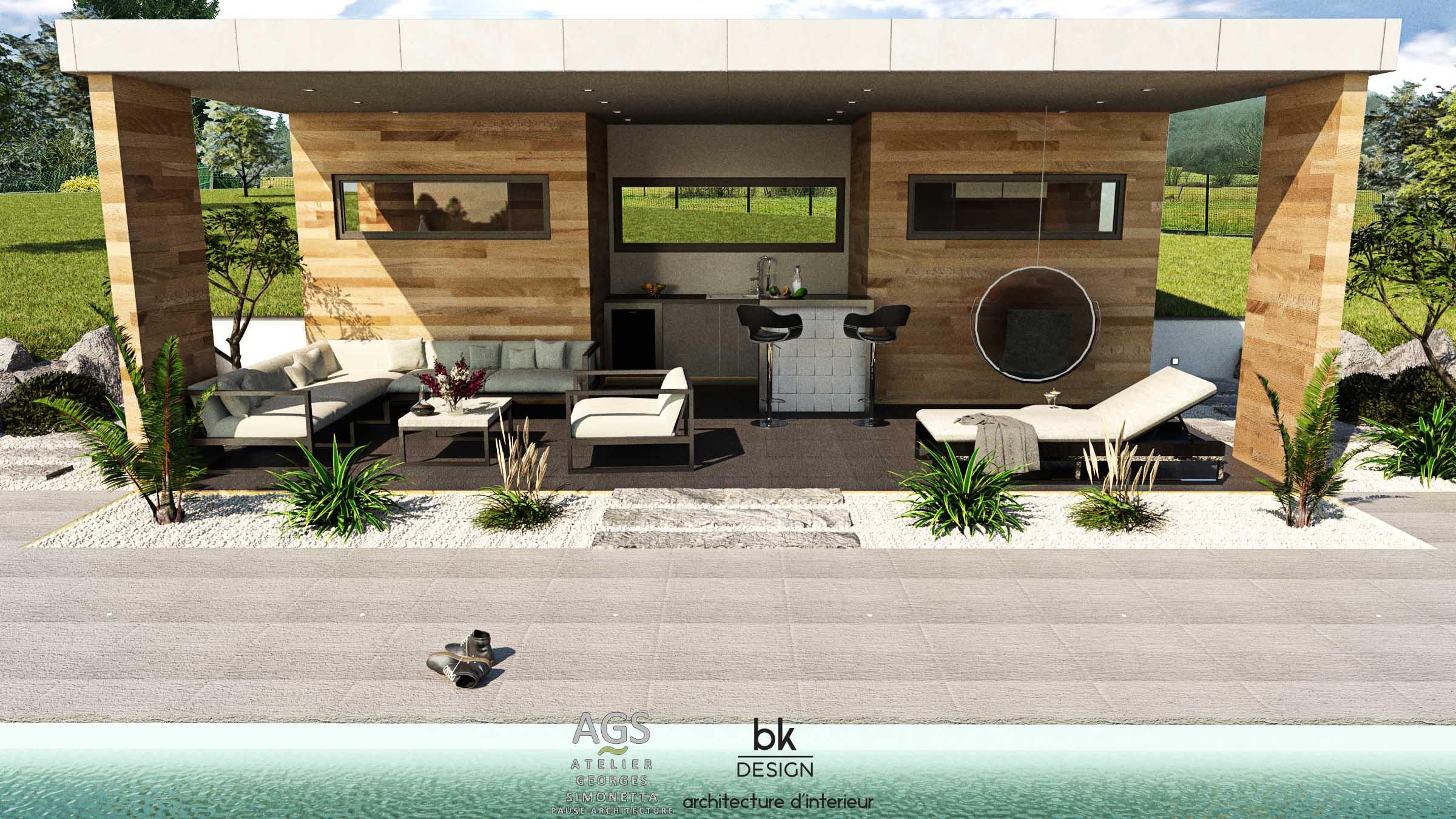 27 bk Design Projet Pierrevillers Poolhouse