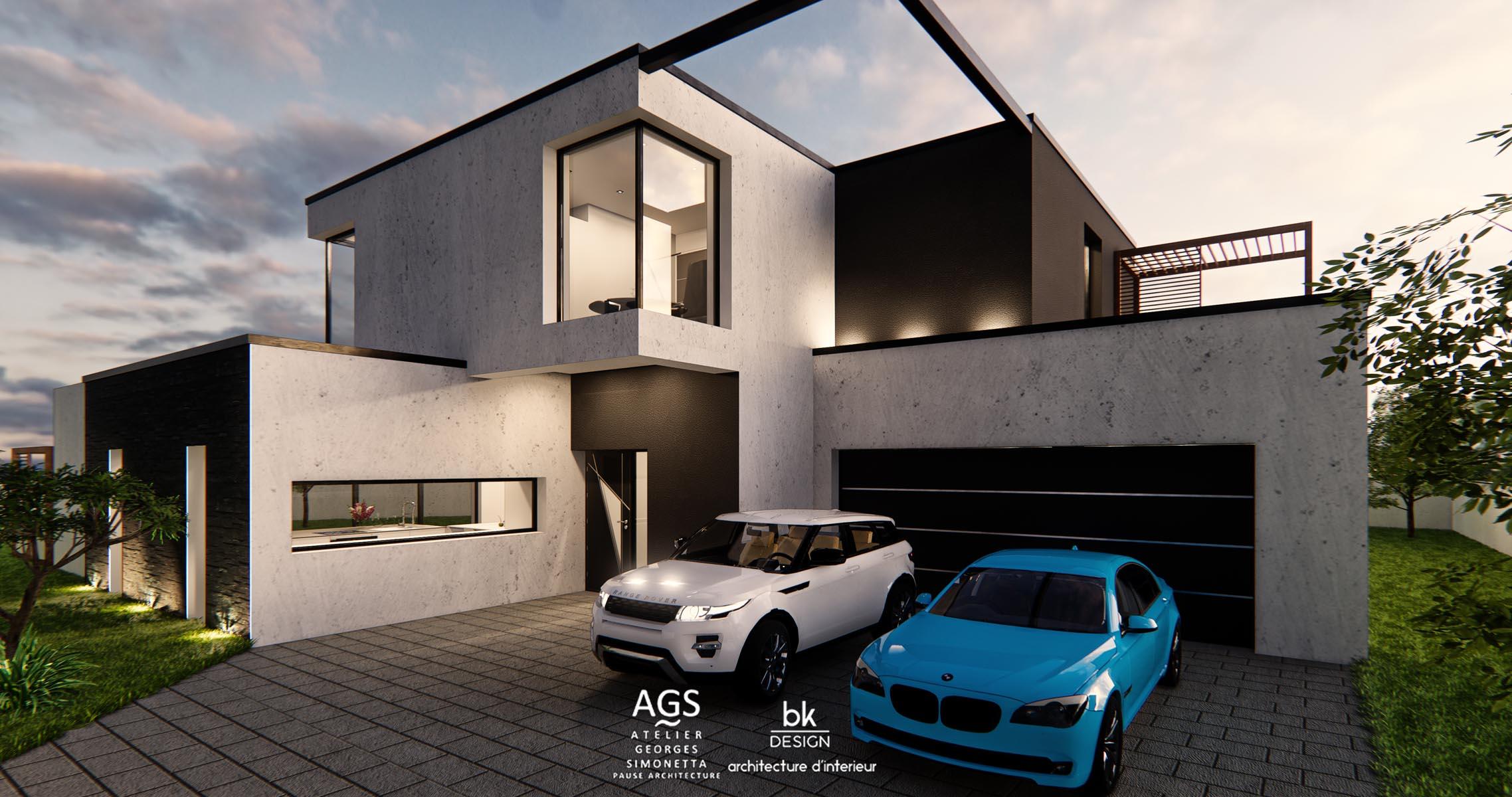 35 bk Design Projet Elange v3 01 Villa
