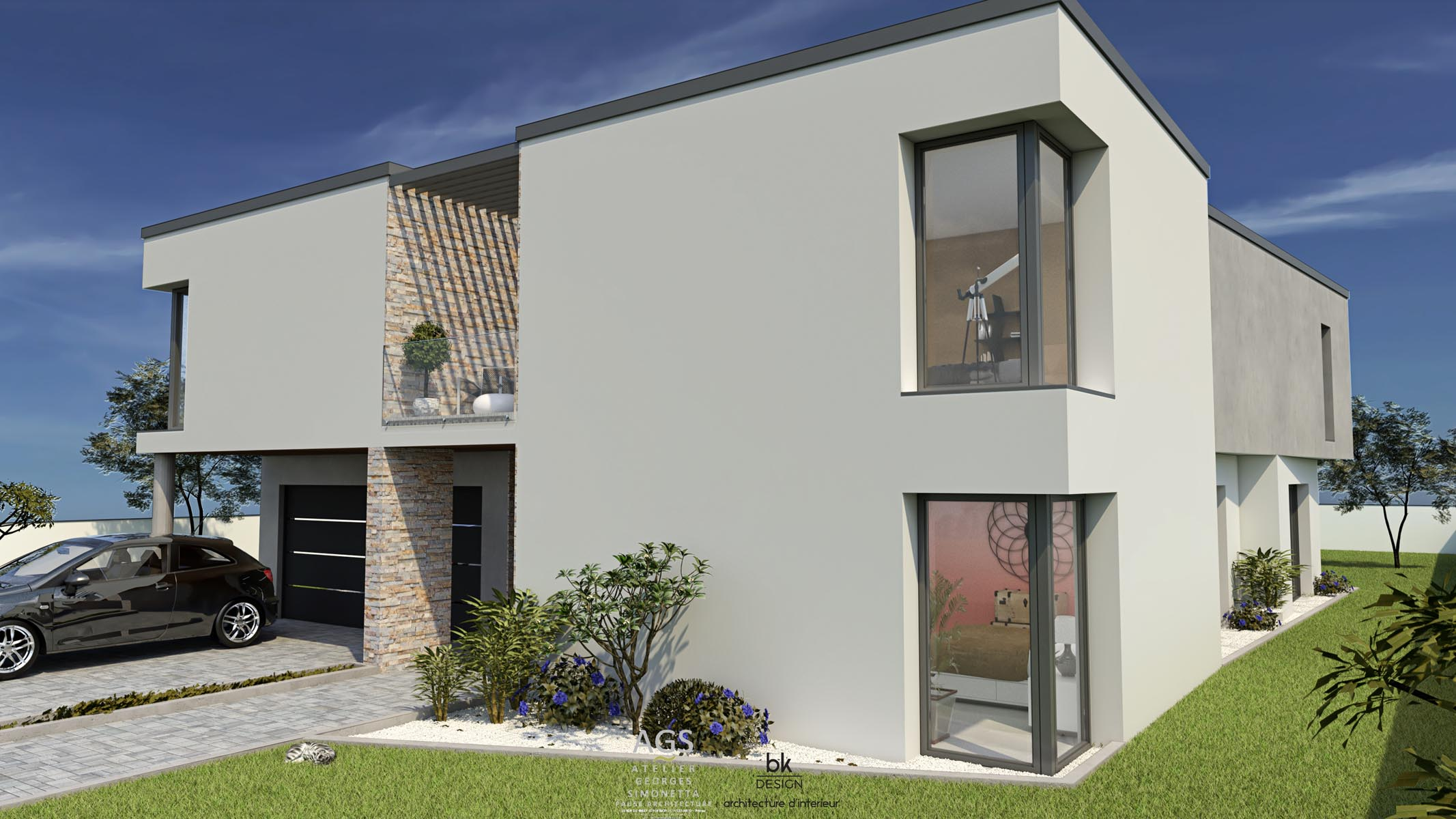 41 bk Design Projet Woippy Maison 105