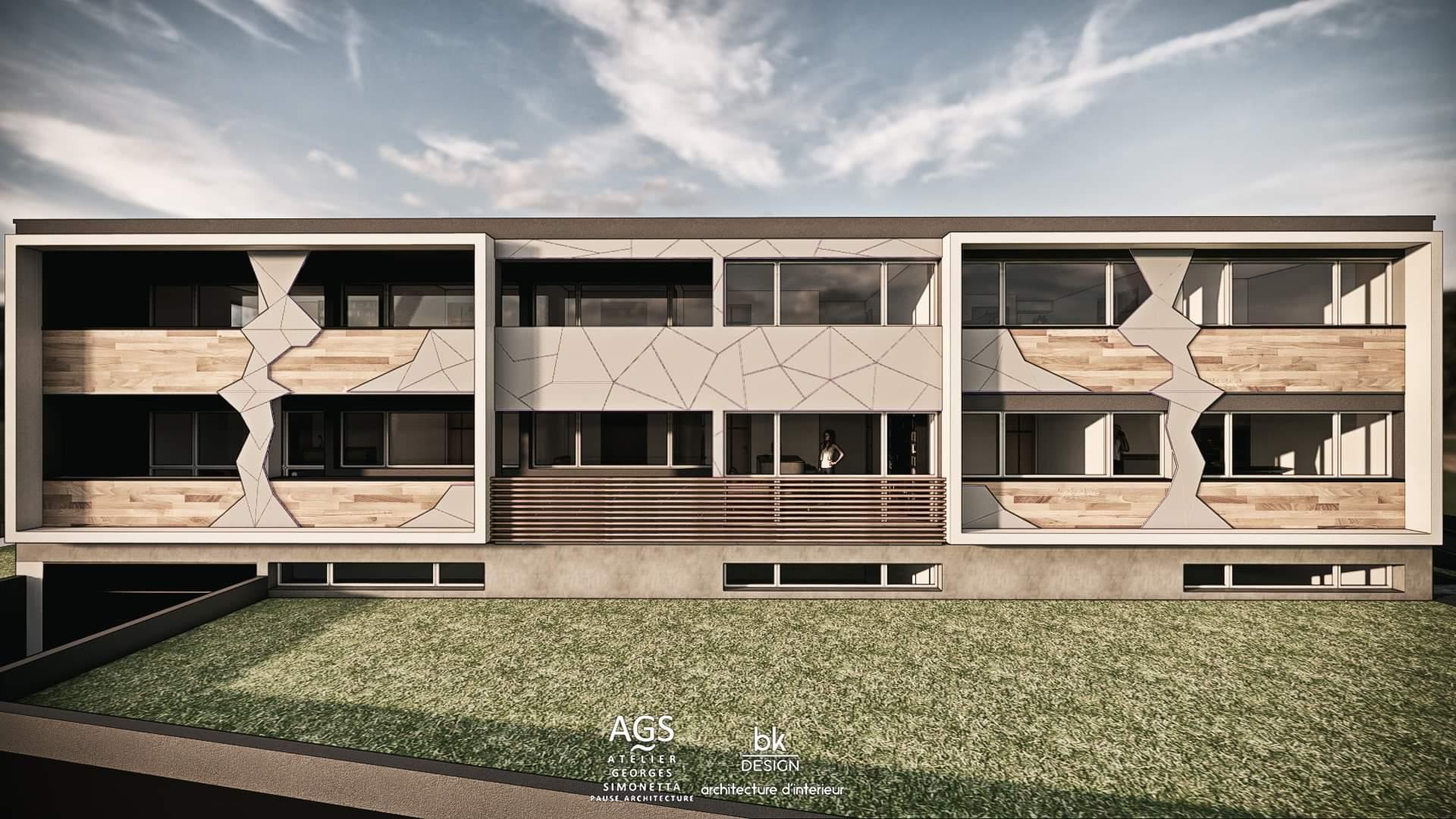 42 bk Design Projet Thionville Immeuble