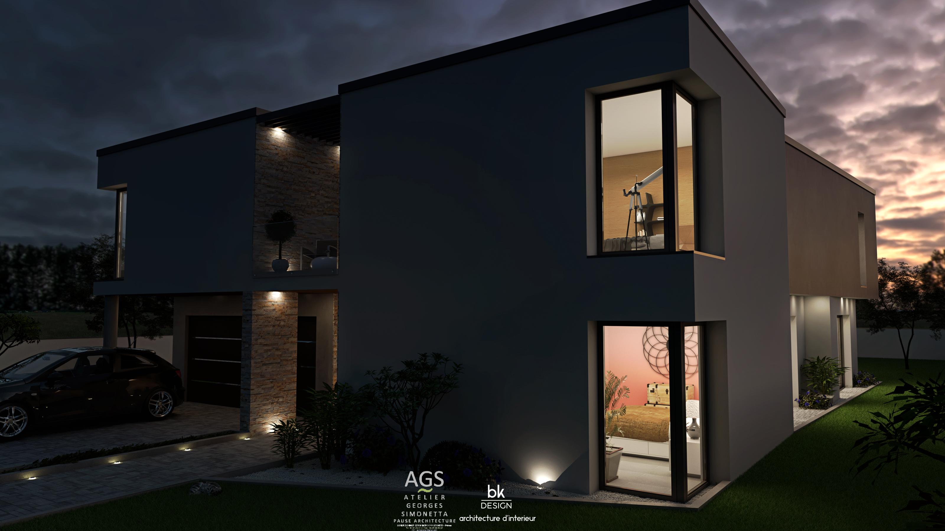 Architecte intérieur Metz Thionville Nancy Lorraine bk Design rendu 3D