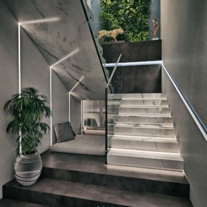 "Escalier Projet ""Delohyna"""